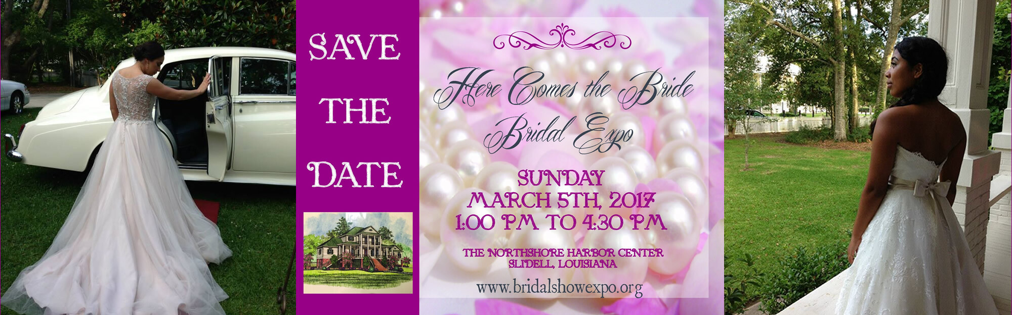 Here Comes the Bride Expo - Mar 5 2017 1:00 PM