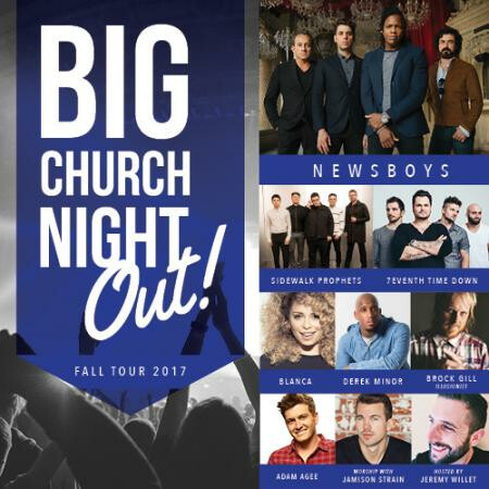 Big Church Night Out - Oct 27 2017 7:00 PM